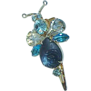 SALE Delizza and Elster Juliana Rhinestone Hair Clip