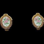 Vintage AVON Porcelain Earrings