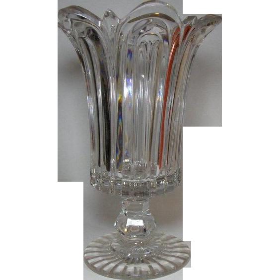 ANTIQUE, Celery Leaf Vase, 19th century