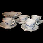 Antique dolls tea set