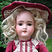 "22"" Walkure Doll by Kley & Hahn"