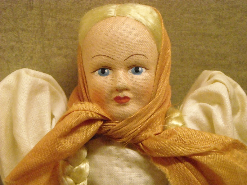 """8 1/4"""" Travel Doll with Box - Poland"""