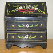 PA Dutch Style Wooden Doll Desk