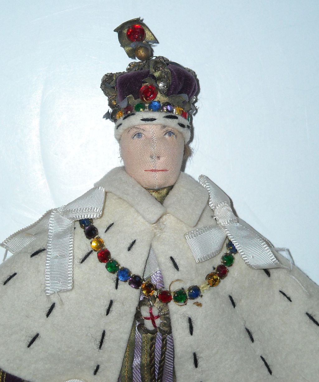 "9"" Liberty of London King George VI Coronation Doll"
