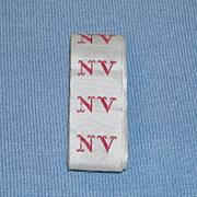 French Laundry Monogram Tape – NV