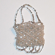 Glass Bead Doll Purse