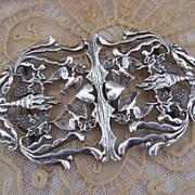 Rare Orante Sterling Silver Scottish Buckle Circa 1740