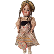 Bebe Jumeau SFBJ French Bisque Doll All Original with Tag!