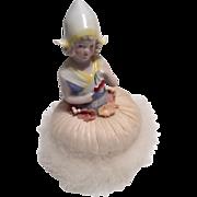 Powder Puff Half Doll