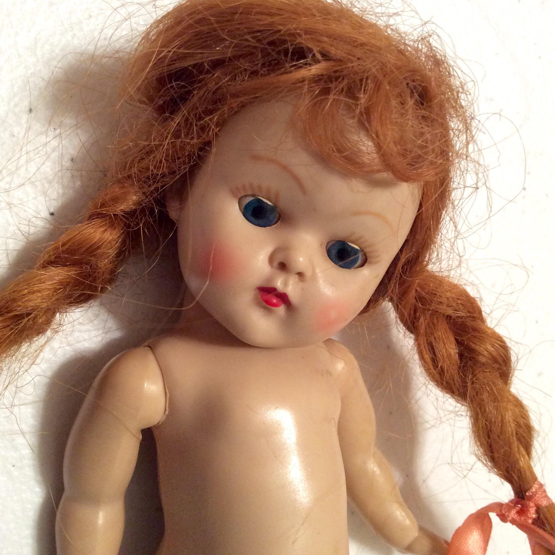 Ginny Doll Reissue Redhead Braids 118