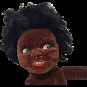 Norah Wellings Vintage Cloth Doll Black Islander