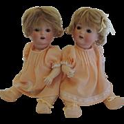 "Twins!  12 12"" PM 23 Baby Girls!"