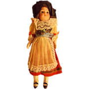 """SALE 7 1/2"""" Alsace French Regional DOll"""