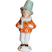 2-3/4 In. Full Figure with Top Hat Pincushion or Half Doll