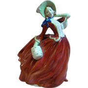 Fine Bone China Royal Doulton Lady Figurine Autumn Breezes