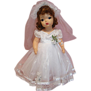 REDUCED Minty Terri Lee Bride Doll, Tagged and Crisp Clothing