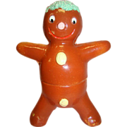 West German Paper Mache Two-Sided Candy Container