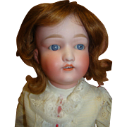 """24 In. Japanese """"Nippon"""" Bisque Head Doll on Fully Jointed Composition Body"""