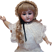 16.5 In. French DEP Jumeau, Orig Jumeau body, Antique Clothes, Beautiful Doll!!