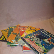 SALE 7 Uncle Wiggily Multi-Story Books,  Howard Garis,1943, Preserved