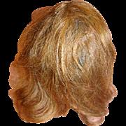 "11-12"" Original Human Hair Doll Wig, Light Brown"