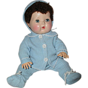 "SOLD Most Adorable 13"" to 16"" TINY TEARS Snowsuit Outfit Ever -- Blue"