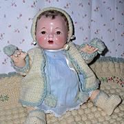 """15"""" Effanbee Factory Dy-Dee Jane Sweater / Bonnet / Booties Set"""