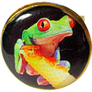 SOLD Adjustable Wild Amazon Jungle Frog Ring