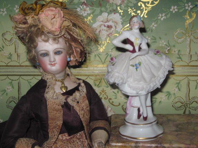 Sale~FABULOUS German Dresden Ballerina Figurine!