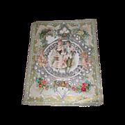 SALE! Elaborate Rare Large Victorian Valentine Card!