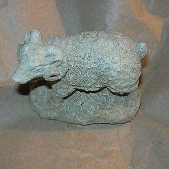 Old Ram Sheep Figure Fine Detail