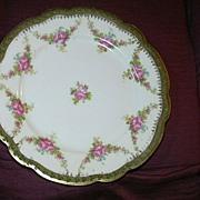 SALE PENDING Set 4 Austria Porcelain Dessert Tea Plates Moritz Zdekauer