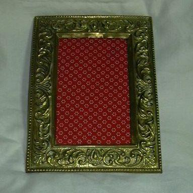 Old English Ornate Brass Frame