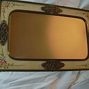 SOLD Old Dresser Tray