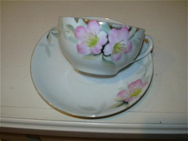 Noritake Cup & Saucer Set