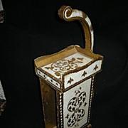 Italian Florentine Phone Stand Side Table