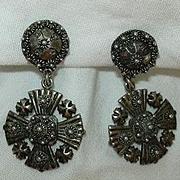 Silver Jerusalem Cross Fine Religious Christianity Medallions