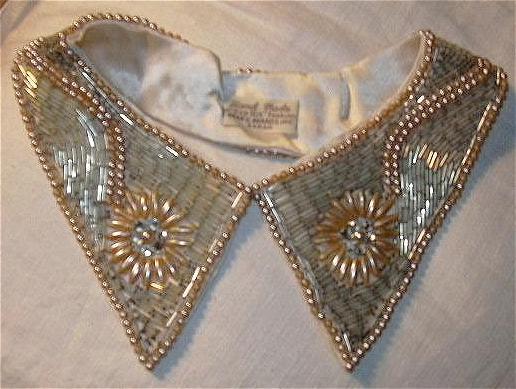 Vintage Pearl Collar Fine Japan Needlework