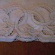Set 8 Ecru Italian Linen Placemat & Napkin Set Never Used