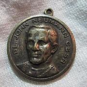 Our Lady Perpetual Help Virgin Mary &  John Neumann Large Medal