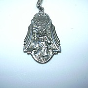 Sterling Silver St Christopher Medal
