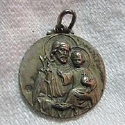 Signed St Joseph Medal