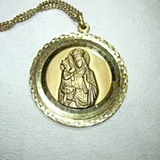 Germany Saint Anne & Virgin Mary Large Medal