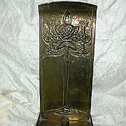 McIntosh School Arts & Crafts Candle Stand 19th century