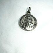Saint Bernadette Reliquary Medal