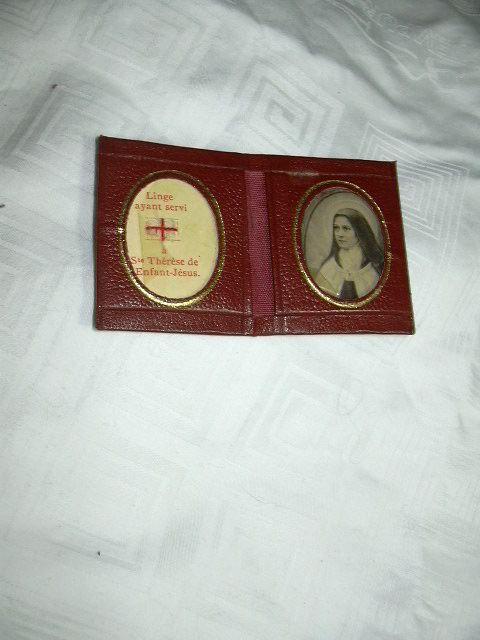 St Terese Lisieux Pocket Reliquary
