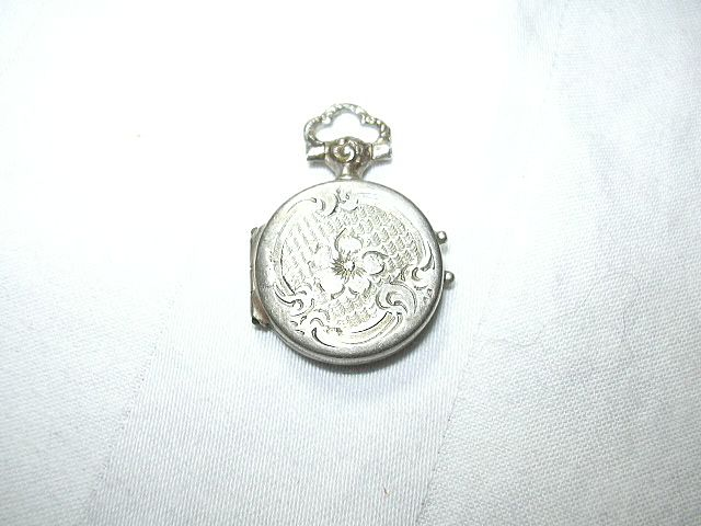 Old Reliquary Locket St Joseph Cupertino Catholic Saint