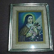 Old Print St Therese Teresa Of Lisieux Religious Art