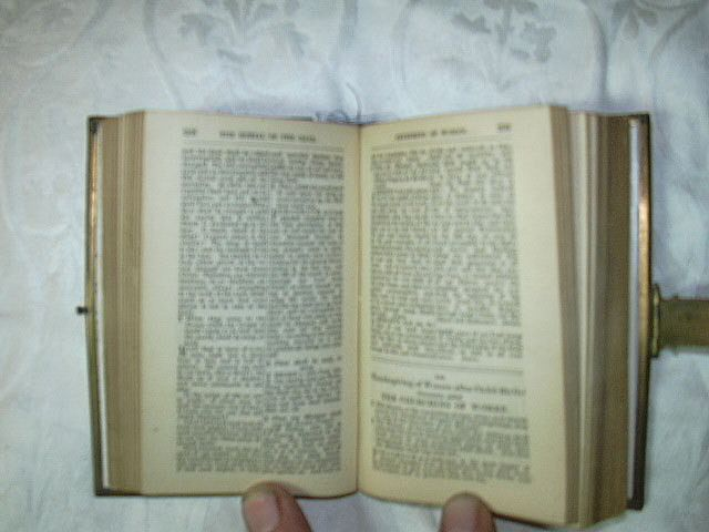 1865 Book Of Common Prayer Decorative Binding From