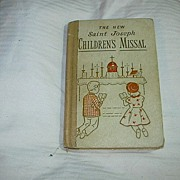 SOLD The New Saint Joseph Children's Missal